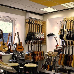 Музыкальные магазины Далматово